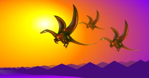 Dragons Flying The Other Planes of Existence