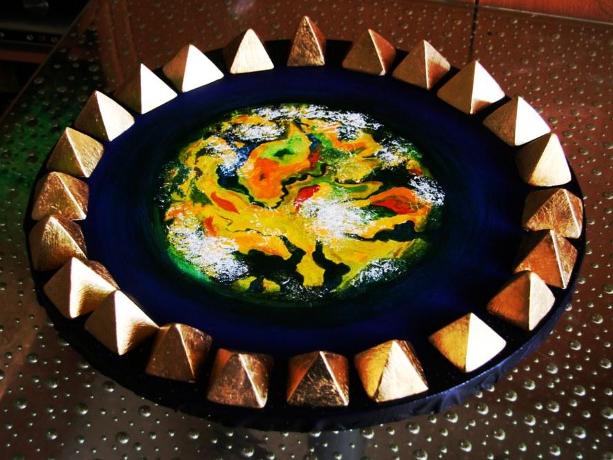 Gold Pyramids Symbol Set