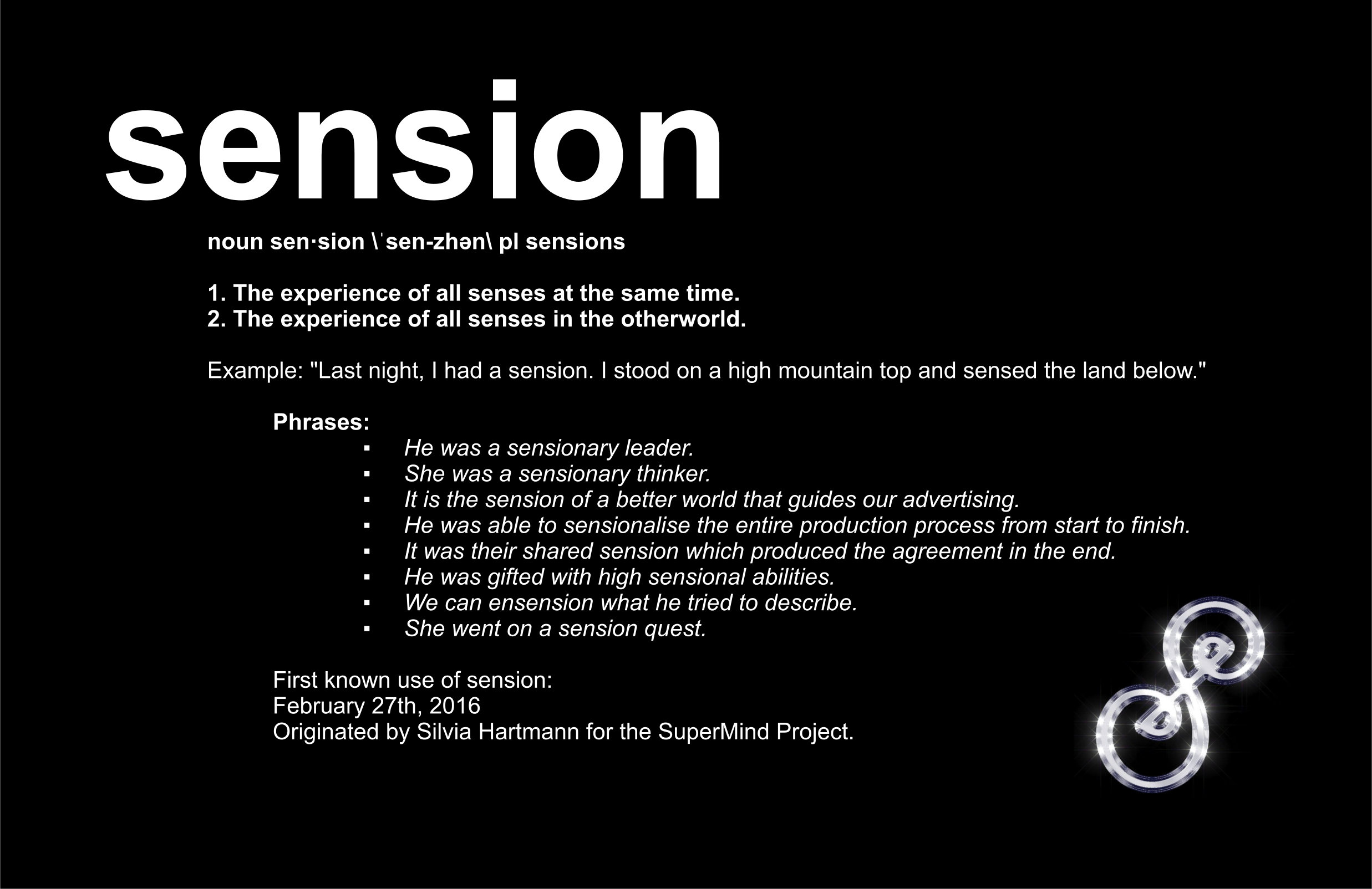 Sensions Produce Sensational Sensations!